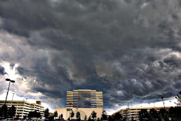 7. What a SCARY Birmingham sky!!!