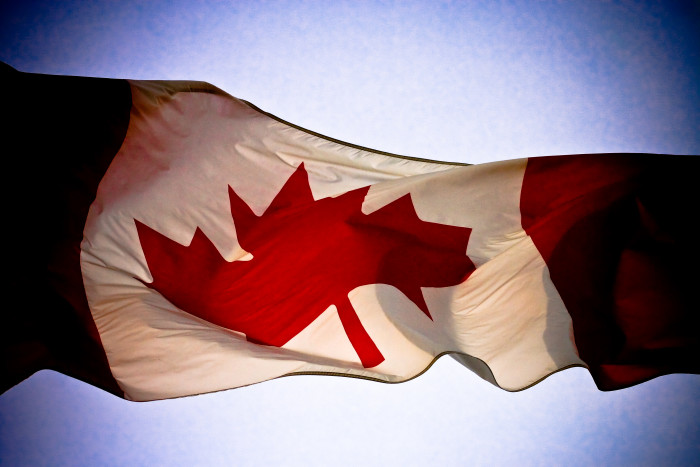 8. We are pretty much just Canada.
