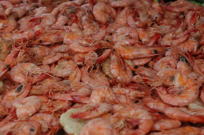 1) Boiled Shrimp