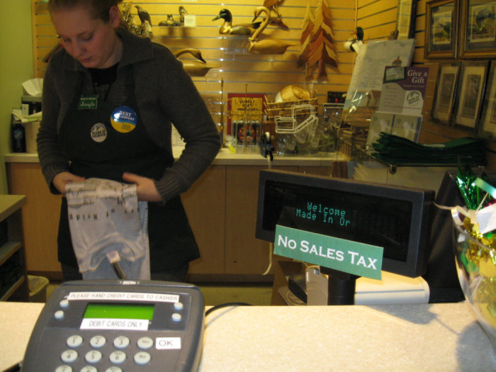 8) And neither is sales tax