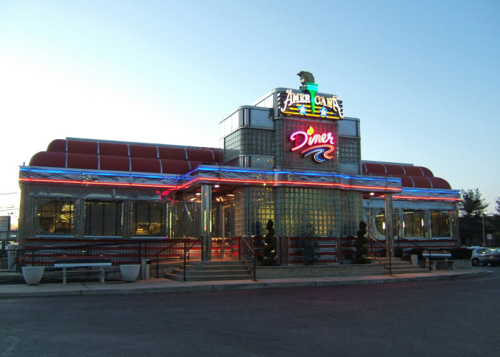 3. Eaten at a diner, especially late at night.