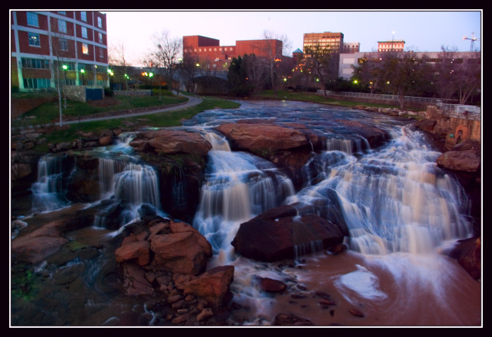 8. Falls Park on the Reedy, Greenville