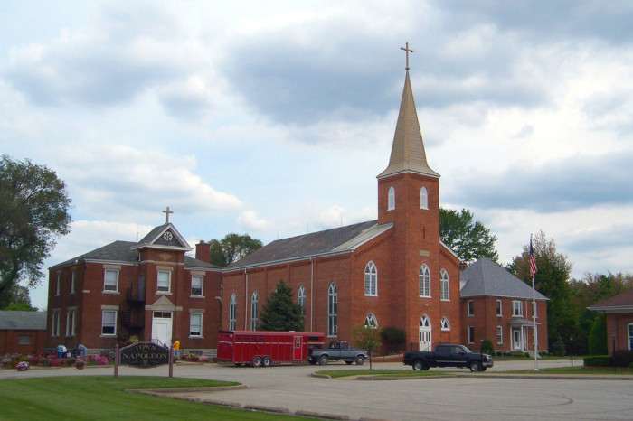 1. St. Maurice Catholic Church and School