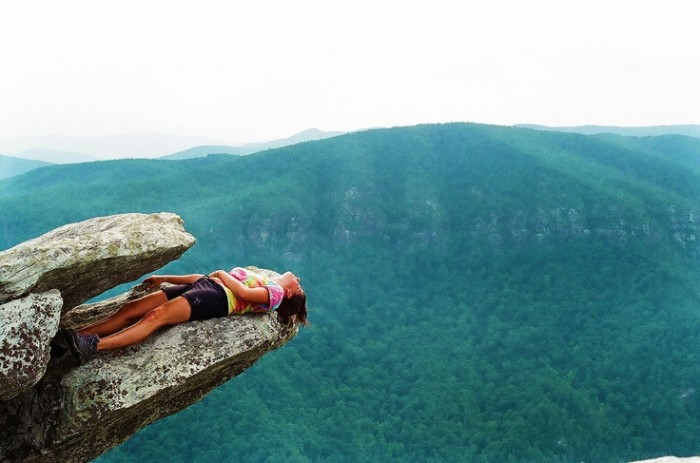 8. Nap time on Linville Gorge
