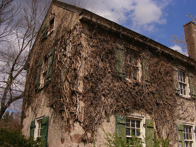 9. This creepy house in Plymouth Meeting looms over you menacingly...