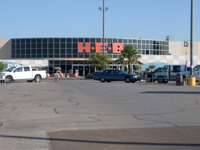 7) Shopping anywhere except HEB
