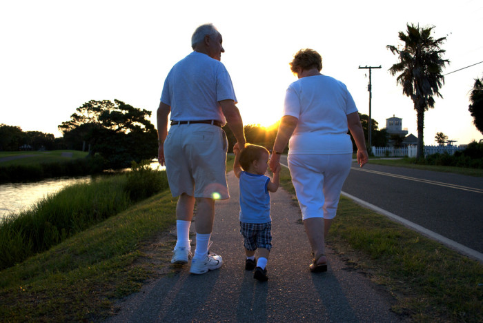 14. Spending Time With Grandparents