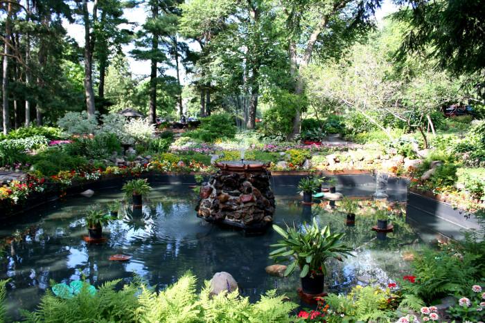 3. Munsinger Gardens, St. Cloud.