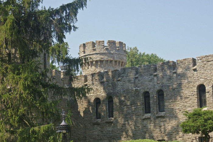 6. Mysterious Castle in Indianapolis