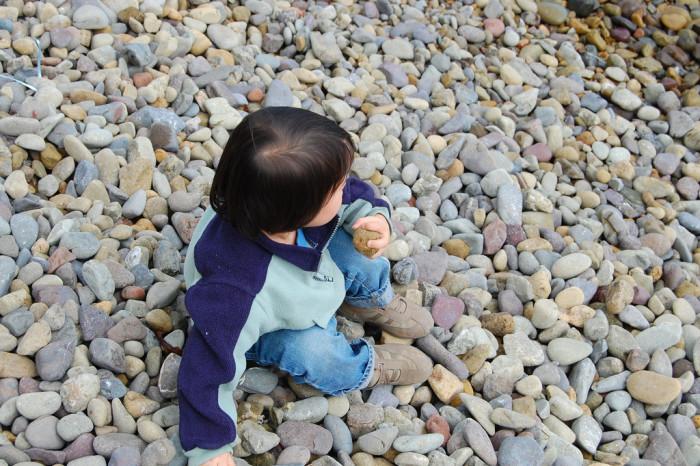 1) Throw Rocks Somewhere Else