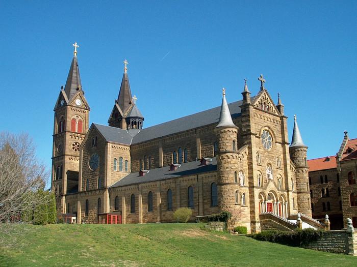4. Saint Meinrad Archabbey