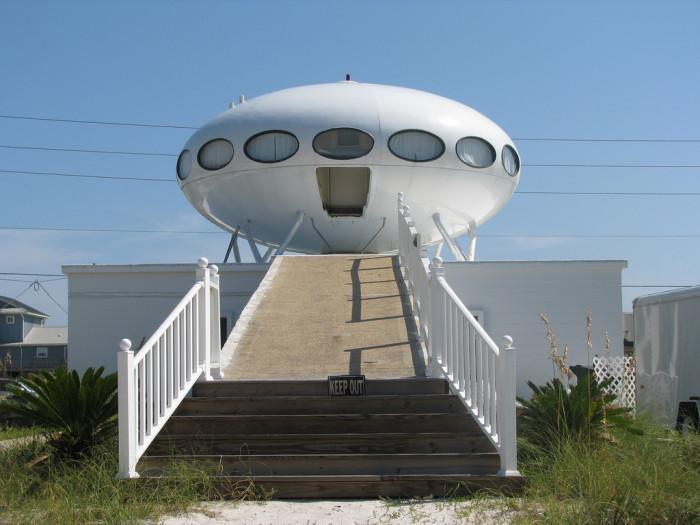 14. UFO House