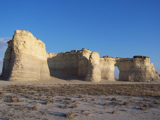 1.) Monument Rocks (Grinnell)