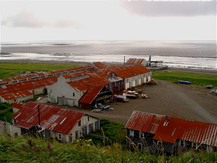 9) Pilot Point, Alaska