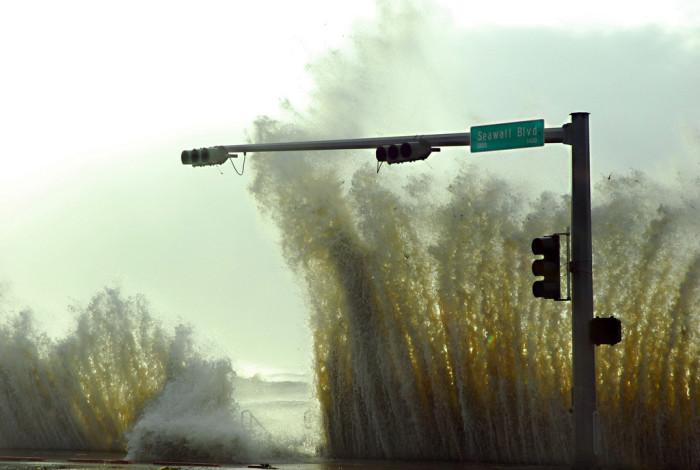 "10) ""The Seawall Defending Galveston"""