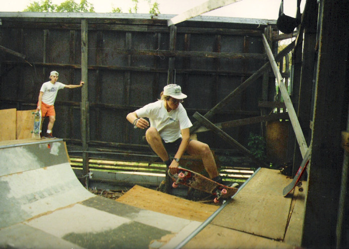 3) You Had to Make Your Own Skate Park