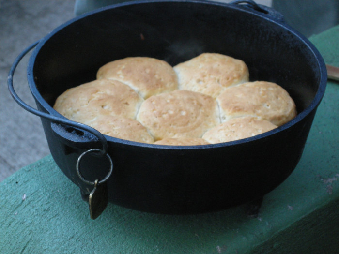 6) Dutch Oven Dinner