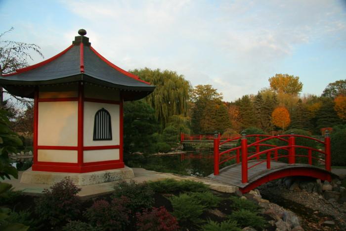 4. Normandale Japanese Garden, Bloomington.