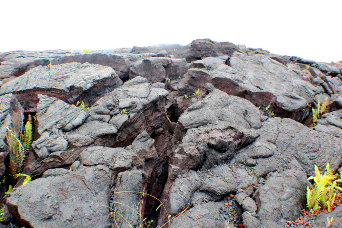 3) This lava landscape makes you feel as though you've almost been transported to a different planet.