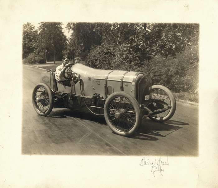 3. Andy F. Scott and the Anderson Special Race Car, Kansas City, Missouri 1915