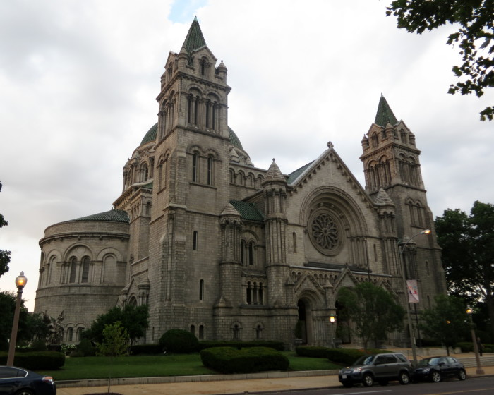 3. Cathedral Basilica of Saint Louis