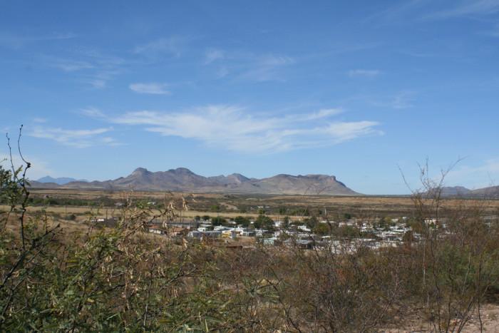 1. Huachuca City (pop. 1,811)