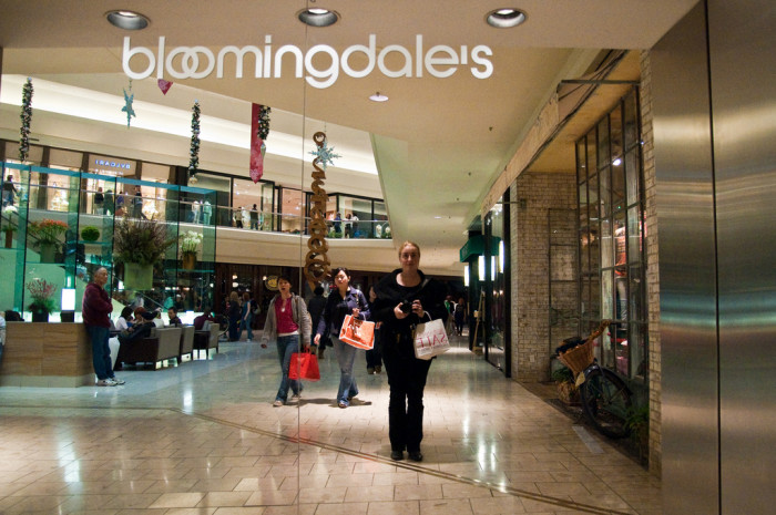 5. Shopped at a mall. They're crowded, but convenient.