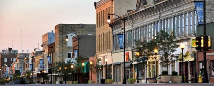 8. Arkansas City