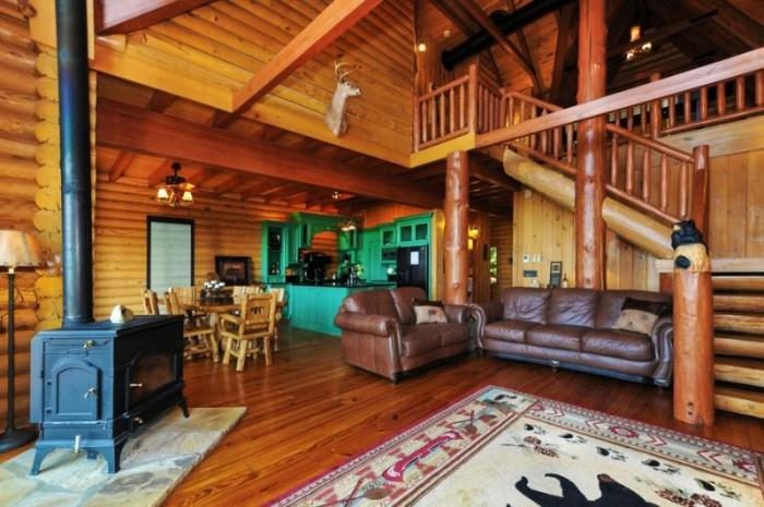 5. North Georgia Cabin in Waleska, GA