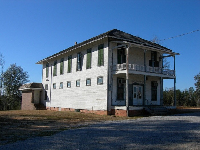 8. Burnt Corn General Store, located in Burnt Corn, Alabama, was constructed in 1890. The Masonic Lodge was located upstairs and the post office was located in the back left corner of the store. The general store closed around 2005.