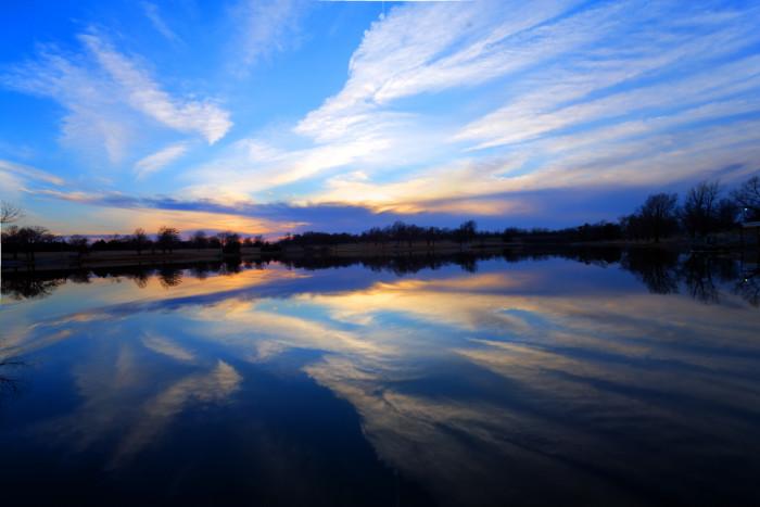 11.) Kansas = God's canvas