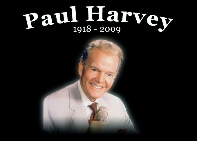 10. Paul Harvey, 2009