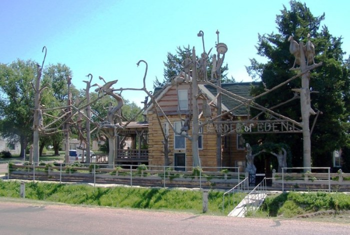 8.) Kansas is home to some of the weirdest and quirkiest attractions you'll ever see.