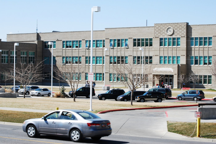 16) East High School, Salt Lake City