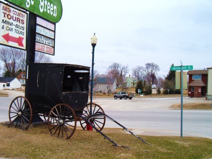 4. Harmony is Minnesota's largest Amish community and has plenty to see. Learn about Amish culture and enjoy Niagara Cave nearby.
