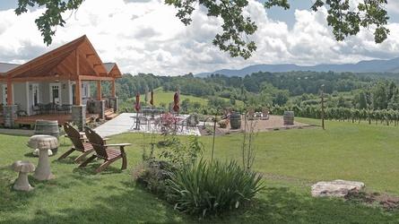6. Silver Fork Vineyard & Winery, Morganton