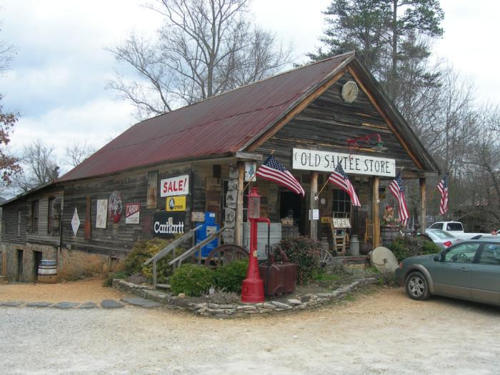 7. Old Sautee Store in Sautee Nacooche, GA