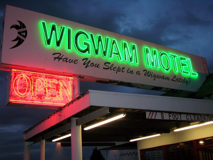 6. Wigwam Motel, Holbrook