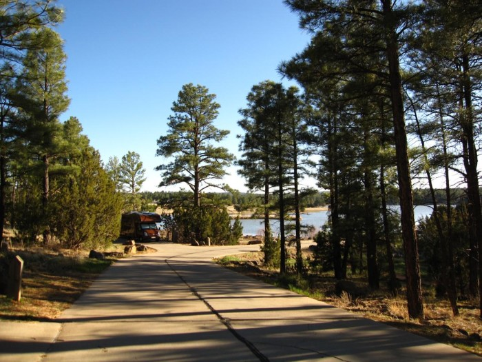 3. Fool Hollow Lake Campground