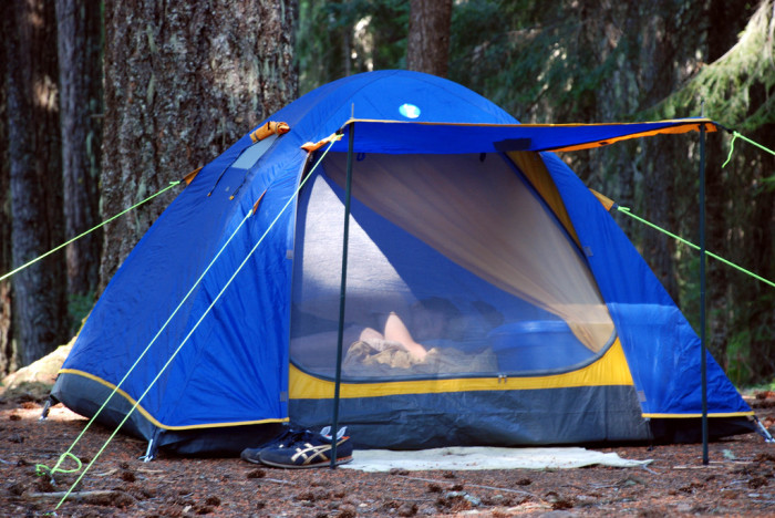 7) Sleep in the Great Outdoors