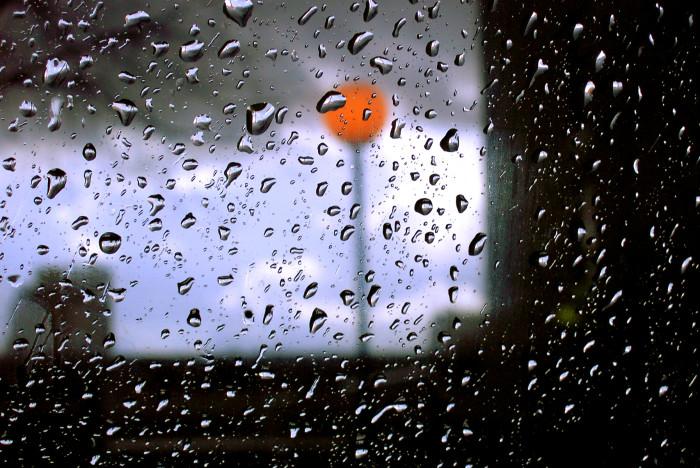 4. In Western Washington, it starts raining...a LOT.