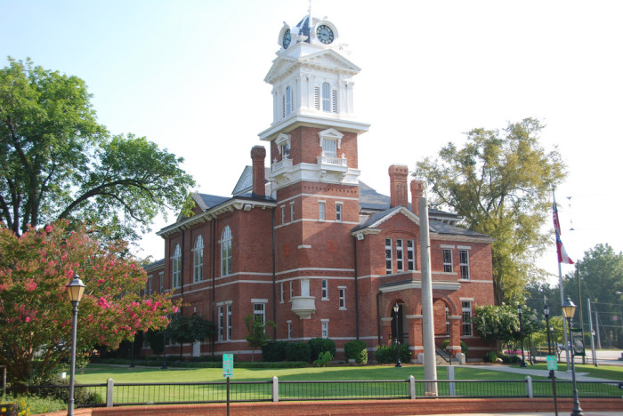 Historic Gwinnett County Courthouse - Lawrenceville, GA - Built in 1884