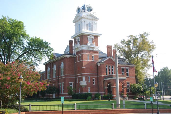 1. Lawrenceville, GA - Gwinnett School of Mathematics, Science and Technology