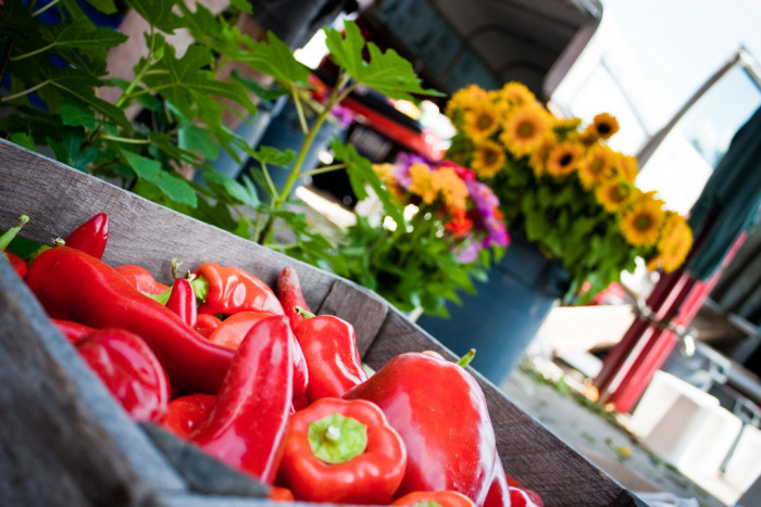 5. The farmers markets here are undeniably incredible.