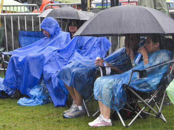 4) Going outside in the summer without an umbrella handy.