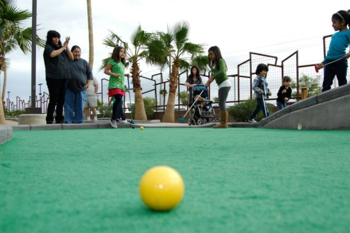 2. Play a round or two of miniature golf at the Z Fun Factory in Yuma.