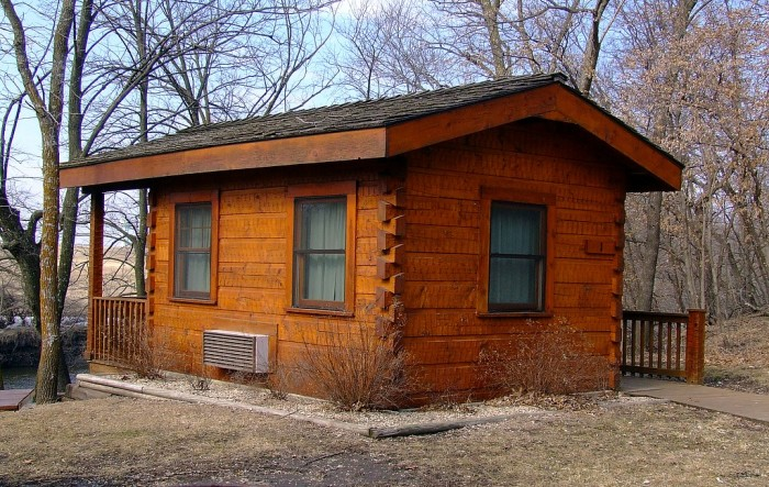 3. Cabins at Briggs Woods Park, Webster City