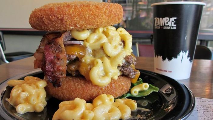 2 Zombie Burger