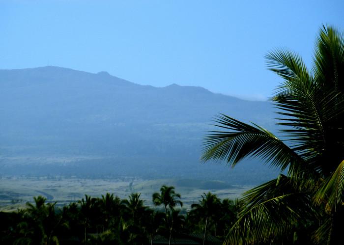 4) Hualalai, Big Island