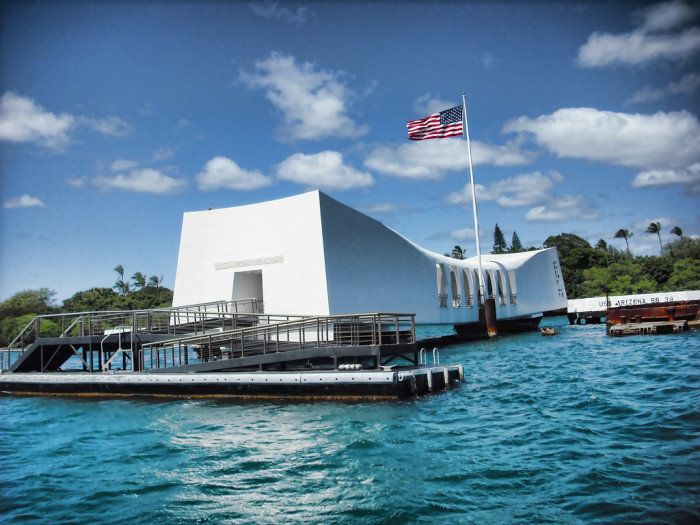 4) Pearl Harbor, one of the most notorious and fatal attacks on America.